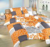 Povlečení satén Bluemoon oranžový