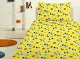 Bavlněné povlečení Pejsek žlutý Jerry Fabrics